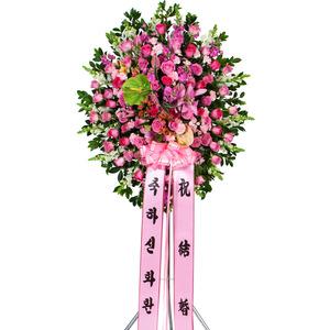 핑크장미 신화환오브제