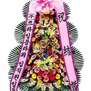 ♣인기상품♣축하3단 정품화환
