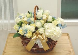 ★현금별도 레몬돈꽃바구니