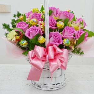 사탕바구니(핑크)